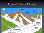 types of glacial erosion13