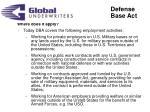 defense base act3