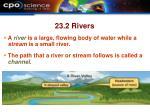 23 2 rivers