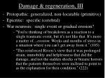 damage regeneration iii