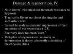 damage regeneration iv