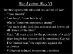 war against war vi
