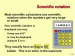 scientific notation42