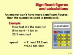 significant figures and calculations47