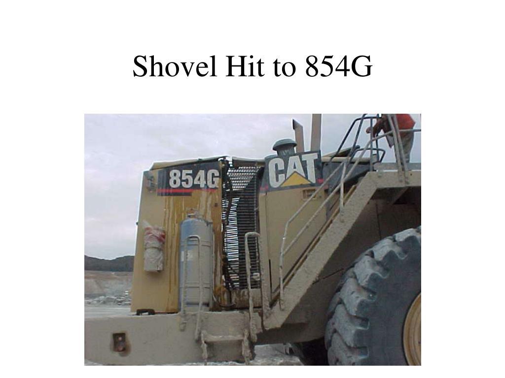 shovel hit to 854g l.