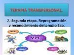 2 segunda etapa reprogramaci n y reconocimiento del propio ego