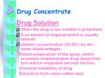 drug concentrate25