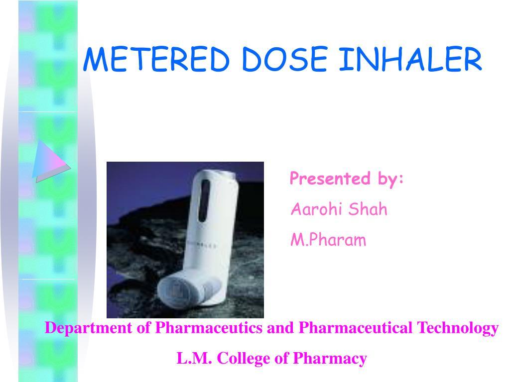metered dose inhaler l.