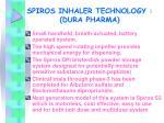 spiros inhaler technology dura pharma
