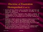 doctrine of frustration distinguished cont d2