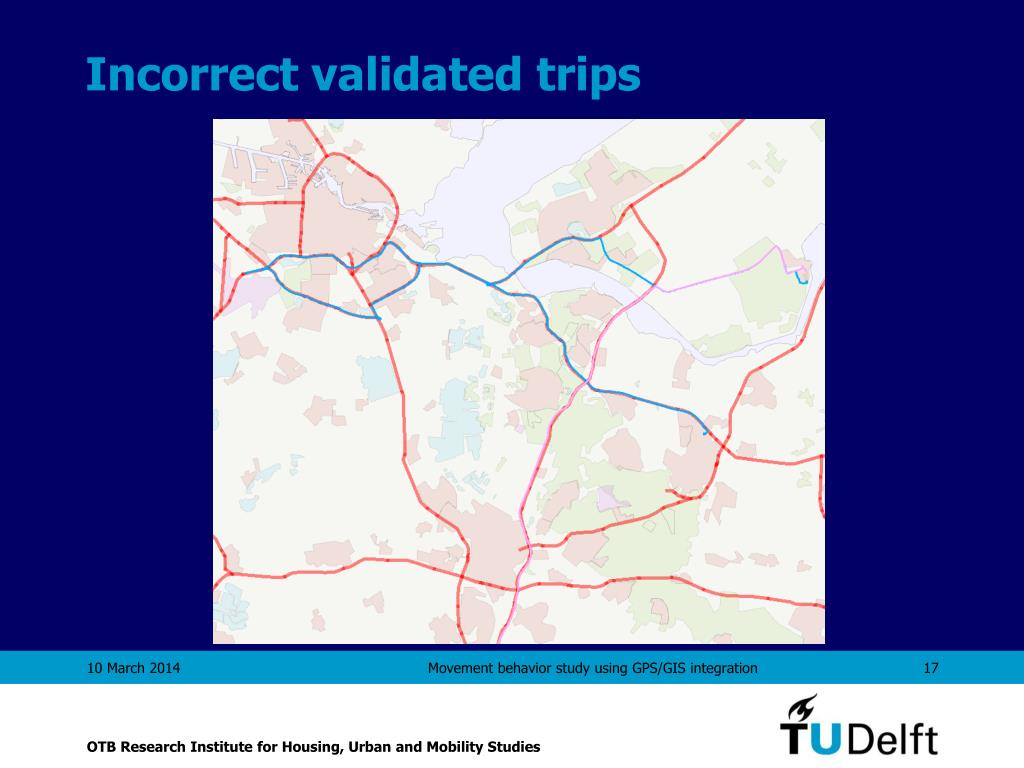 Incorrect validated trips