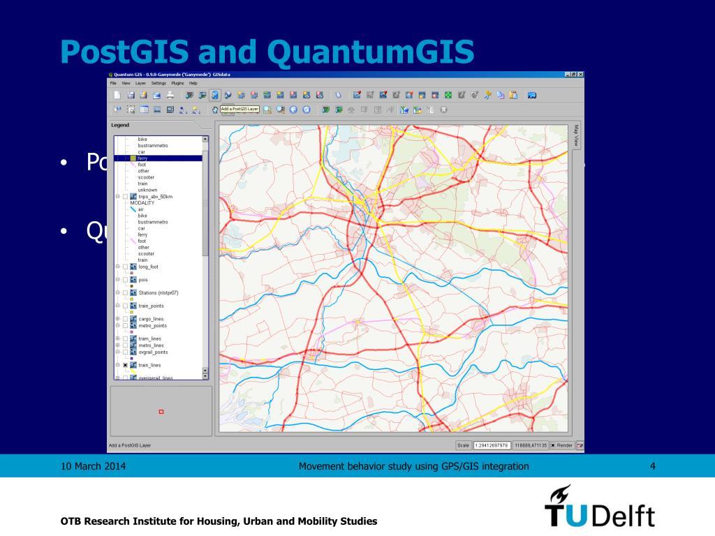 PostGIS and QuantumGIS