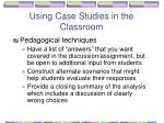 using case studies in the classroom46