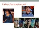 pathos emotional appeal