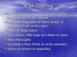 scba cleaning