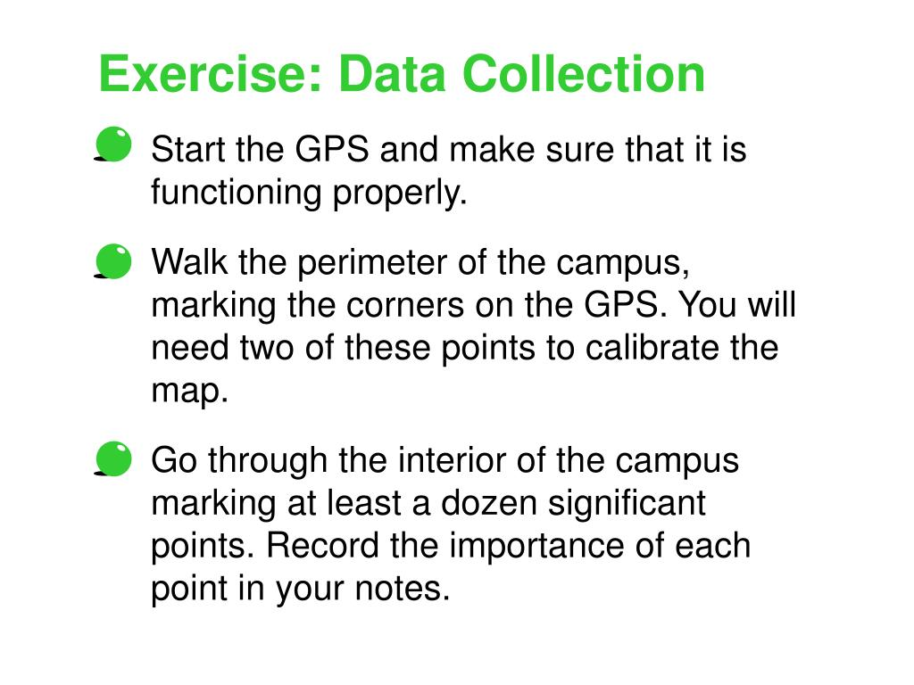Exercise: Data Collection