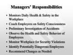 managers responsibilities