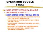 operation double steal15