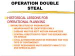 operation double steal19