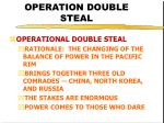 operation double steal23