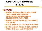 operation double steal25