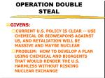 operation double steal26