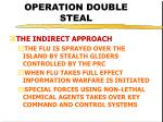 operation double steal32
