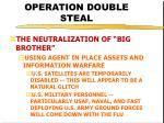 operation double steal34