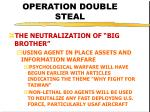 operation double steal35