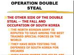 operation double steal40