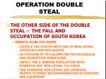 operation double steal41