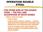 operation double steal42