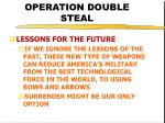 operation double steal46