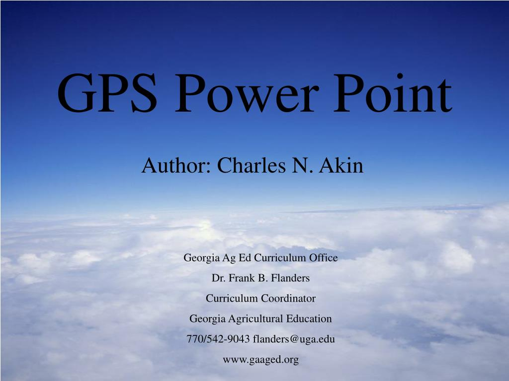 gps power point l.