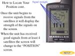 how to locate your position cont21