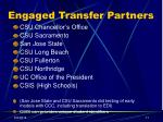 engaged transfer partners