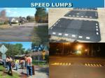 speed lumps