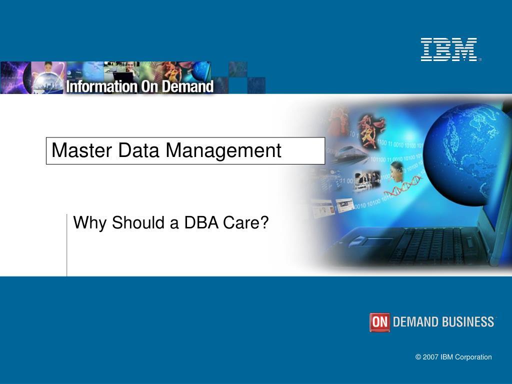 master data management l.