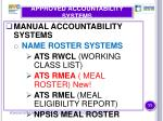 approved accountability systems