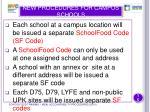 new procedures for campus schools