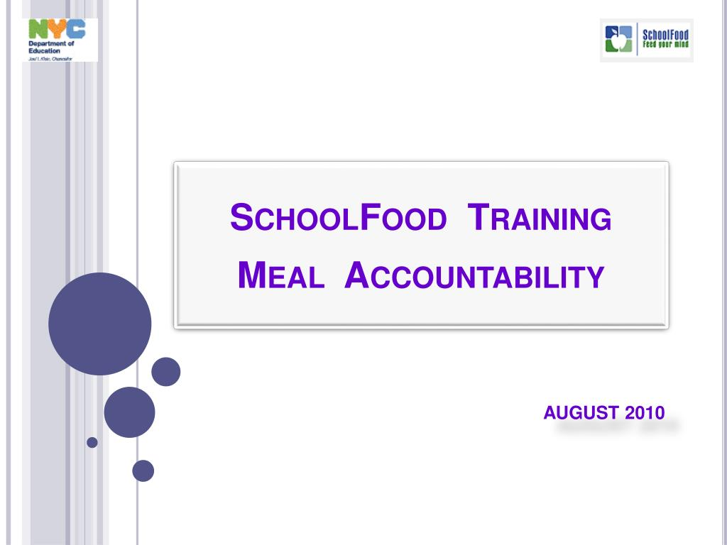 schoolfood training meal accountability l.