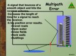 multipath error