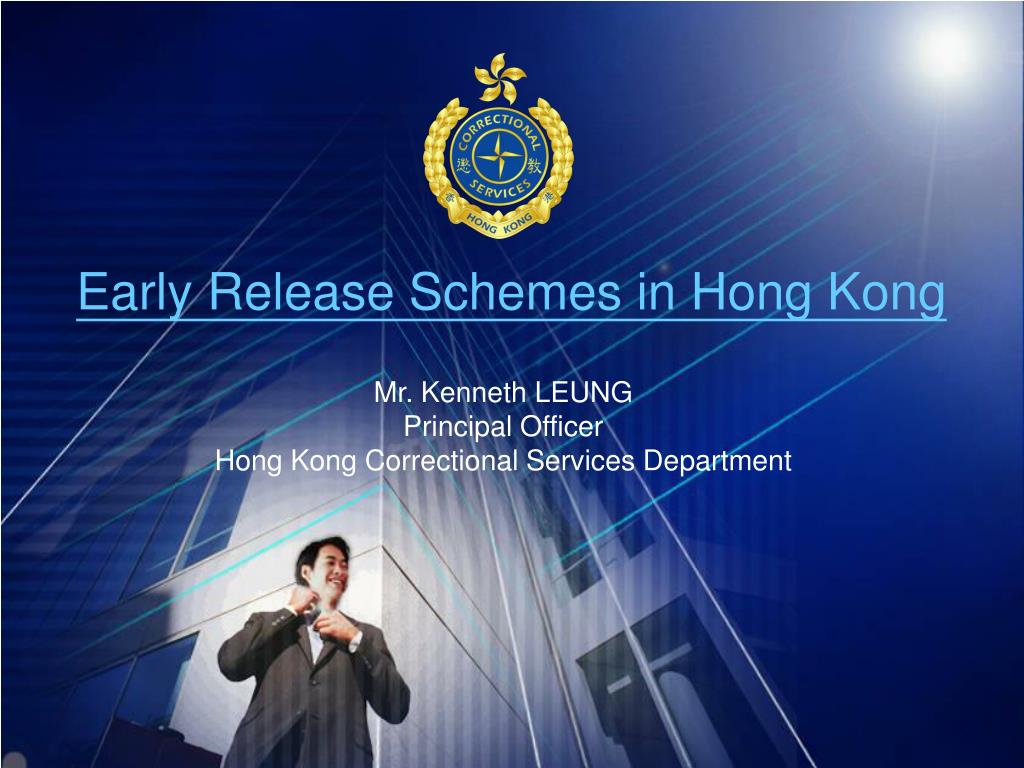 early release schemes in hong kong l.
