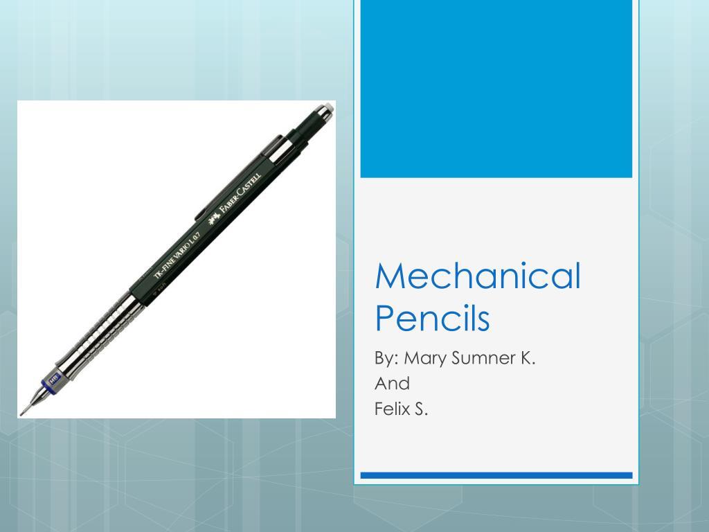 mechanical pencils l.