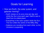goals for learning38