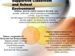 supportive classroom and school environment10