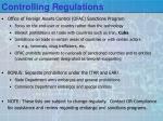controlling regulations2