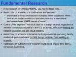 fundamental research1