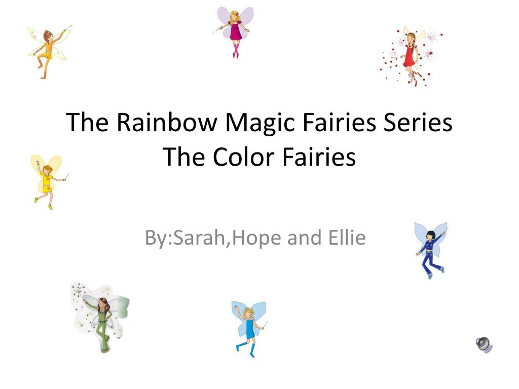the rainbow magic fairies series the color fairies l.