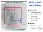 arps adas assimilation